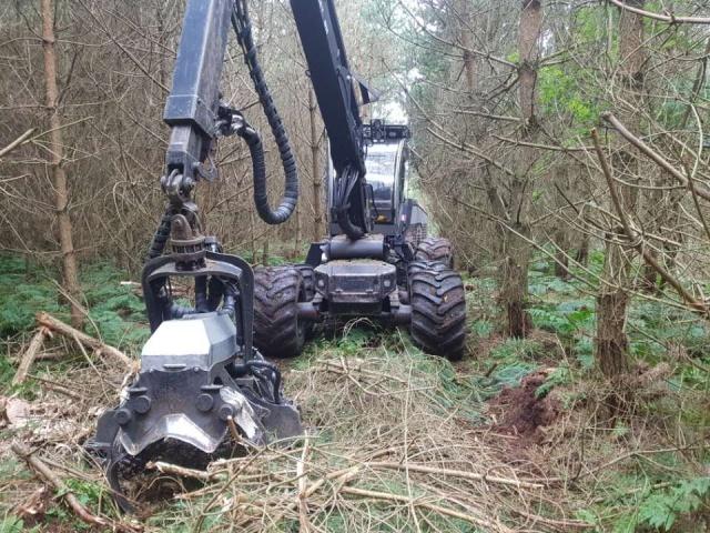 Logset 8H Harvester