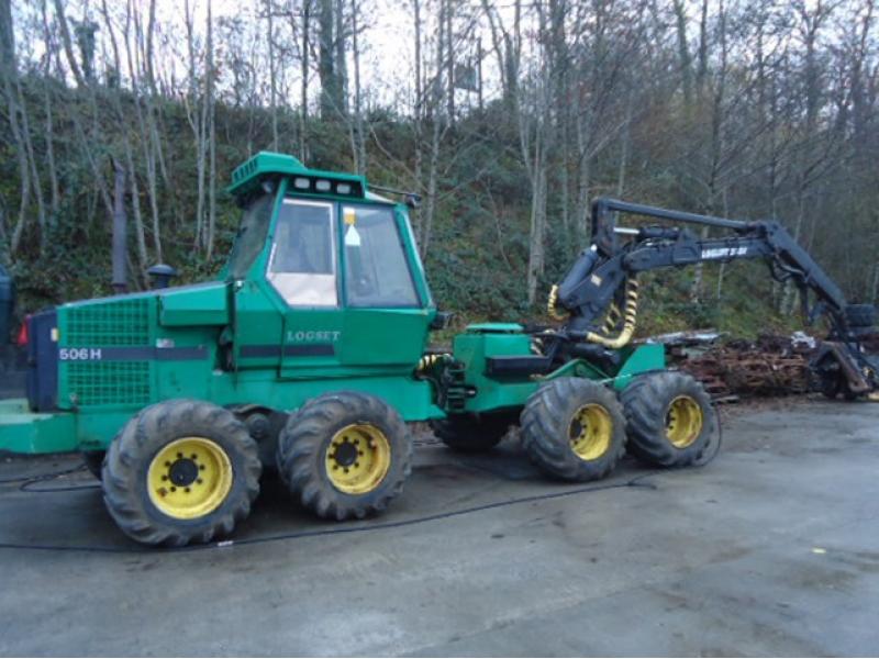 Logset 506 Harvester